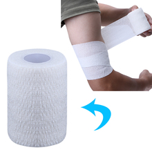 Athletic Tape Sport Stretch Elastic Self-adhesive Roll Bandage Strap Sports Stretch Elastic Tape Wrist Support Safety(China)