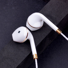 New in-ear earphone for apple iphone 5s 6s 5 xiaomi bass earbud headset Stereo Headphone For Apple Earpod Samsung sony earpiece(China)