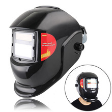 Solar Auto Darkening Welding Helmet TIG MIG Welder Lenses Grinding Electric Welding Arc Mask Welder Cap Soldering Supply A391
