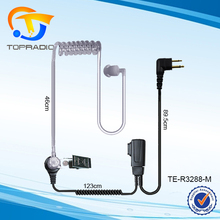 Walkie Talkie Headset In Ear PTT 2 pin MicFor Motorola GP2000 GP2100 GP300 GP308 GP68 GP88 GP88S Walkie Talkie Headset