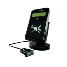 ACR122L NFC Contactless Reader Writer With LCD Support ISO14443 Type A  B and all four types of NFC tags+ SDK Kit +2PCS S50 Card