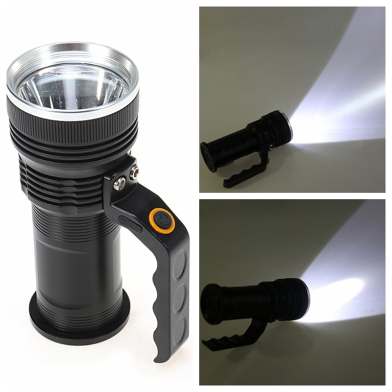 Super Bright 3800Lm XM-L T6 LED Portable Tactical Flashlight Torch Camping Lamp Light +18650 Battery Charger<br>