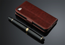 Luxury Brand Original Flip Cover for iPhone 5 Case Leather Card Magetic Coque Capa Fundas for iPhone 5s Case Genuine Wallet(China)