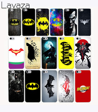 Lavaza 301CA Bat Man Super Man Design Hard Case Cover for iPhone 8 X 7 7 plus 4 4s 10 5 5s 5c SE 6 6s Plus case cover(China)