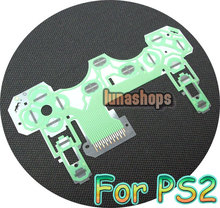PS2 controller Button Ribbon Repair Keypad Flex Cable circuit board Part  accessories LN002318