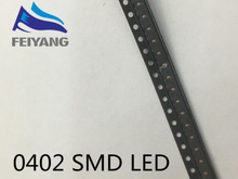 3000pcs UV/purple Color 0402 SMD SMT Super Bright lamp LED lights light-emitting diodes New High quality 390-410nm 1.0*0.5mm(China)