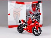 Maisto 1:12 DCT 1199 red Assembly Line DIY diecast Motorcycle Model