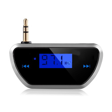 Wireless Car Radio Music Audio FM Transmitter HandsFree FM Modulator Transmissor FM LCD displayer For iphone Android phone