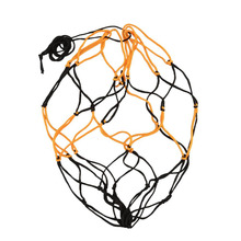 Nylon Net Bag Ball Carry Mesh Volleyball Basketball Football Champion Outdoor Multi Sport Game Black&Yellow Free shipping