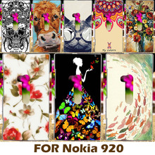 Phone Case For Nokia Lumia 920 N920 4.5 Inch Phone Shell Cover Protective Sleeve Back  Printing Cool Design Back Coque Capa