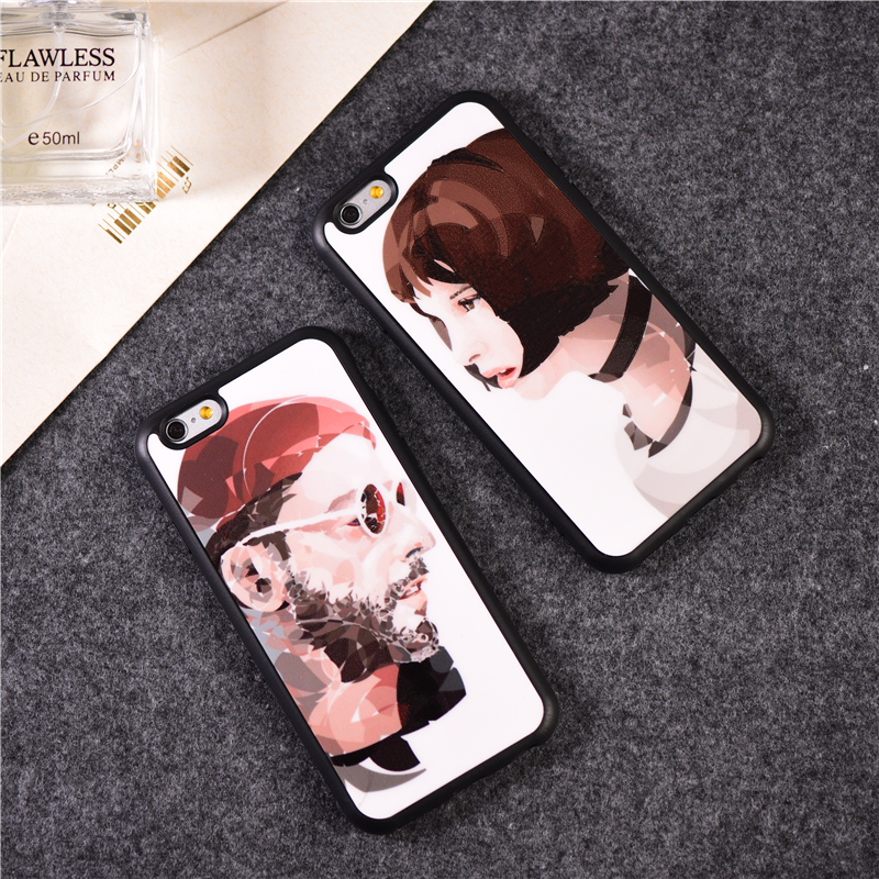 Classic Movies Leon Conque de Cellphone Leon Mathilda Lover Cover For font b iPhone b font