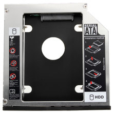 Newest 9.5mm 2nd SATA HDD SSD Caddy Adapter Bay For IBM-Lenovo Thinkpad T420 T520 W520 W510 T510(China)