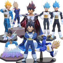 8styles 12-23cm different complete sizes Vegeta Dragon Ball Z figure Super Saiyan Vegeta Action Figure Toy  brinquedos Model toy