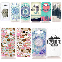 Donut Wonderland Design Soft TPU Gel Silicon Case Cover For Samsung Galaxy S3 S4 S5 Mini S6 S7 Edge Note 2 3 4 5 8 S8 S8 Plus(China)