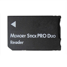 New Arrival SDHC TF to MS Pro Duo Card Reader Adapter Converter Memory Stick For PSP 1000 2000 3000(China)