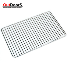 Shipping Free 304 stainless steel bar barbecue charcoal grill grid network thicker non-stick barbecue grill net cooling holder