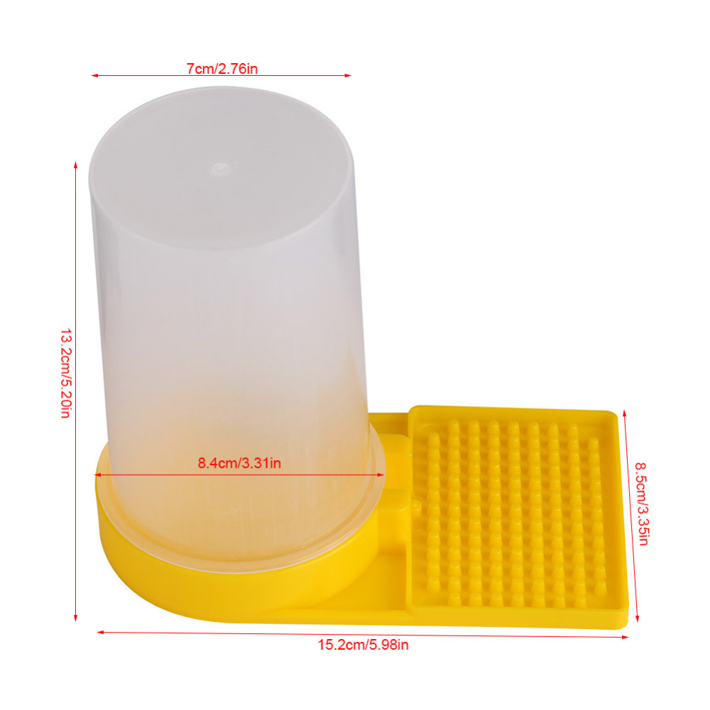 Nest Honey Water Equipment Keeping Plastic Beekeeping Drinking Feeder Bee Hive