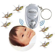 Newly 55*35*15mm Anti Mosquitos Insect Control Ultrasonic Mosquito Repeller Pest Bug Repellent Insect Keychain Control(China)