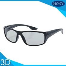 1pcs High Quality Big Frame CINEMA 3D GLASSES For LG 3D TVs Adult Sized Passive Circular Real D Polarized 3D Glasses(China)