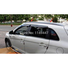 Silver Color Luggage Roof  Rack Rails For Mitsubishi ASX 2013 2014