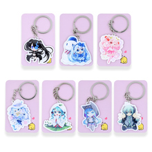 Buy Hatsune Miku Keychain 7 Styles Game Key Chains Hot Sale Custom made Anime Key Ring PSS78-84 for $1.00 in AliExpress store