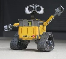 Hot Sale original Design Wall-E robot 6cm action figures Wall-E cute models birthday gift toy for children anime figure