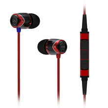 Free Shipping 100%Original SoundMAGIC E10M Isolating Earphones with For Apple Mic iPhone 3 3g 4 4s 5 ipad Black/Red(China)