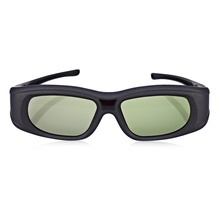 Gonbes G05A HD 3D Glasses Lightweight Bluetooth Infrared Signal Active Shutter 3D Movie Game crystal Glasses for TV High speed