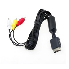 Centechia AV Video Audio Composite RCA Cable Cord for Sony Playstation PS2 PS3(China)