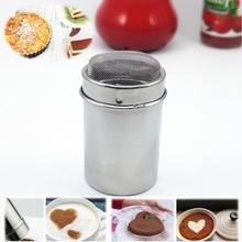 1PC Hot Drink Strainer Infusor New Arrive Chocolate Coffee Icing Shaker Dressing Powder Sugar Salt Cocoa Cappuccino Flour Sifter(China)