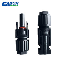 EASUN POWER 10 Pairs MC4 Connector Solar Connector MC4 Solar Panel Connectors Male & Female IP67 TUV 1000Vdc UL 600Vdc(China)
