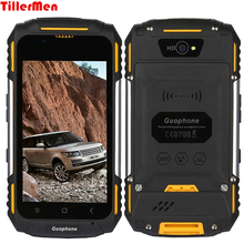 V88 waterproof rugged phone Quad core Mtk6580 1G ram 8G Smart Phone 4 inch 8MP 3200mAh Android 5.1 dustproof shockproof phone(China)