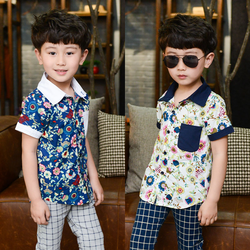 Summer kids birthday shirts print shirt toddler ne...
