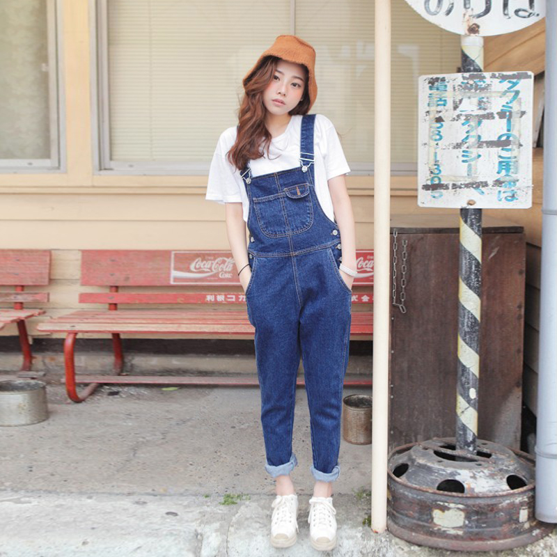Womens Jeans Overalls 2017 Hitz Loose Overalls Jeans Nature Along With The Gender 003 #Одежда и ак�е��уары<br><br><br>Aliexpress