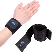 1 Pair Wrist Support Sport Tennis Weightlifting Volleyball Wristband Bracer fitness gym Wrap Bandage Strap Wrist Brace Support(China)