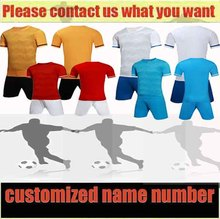 2017 Men's Team soccer training suit Newest Football Kits Great Quality Adult Suits Breathable Outdoors Sports Training Uniform