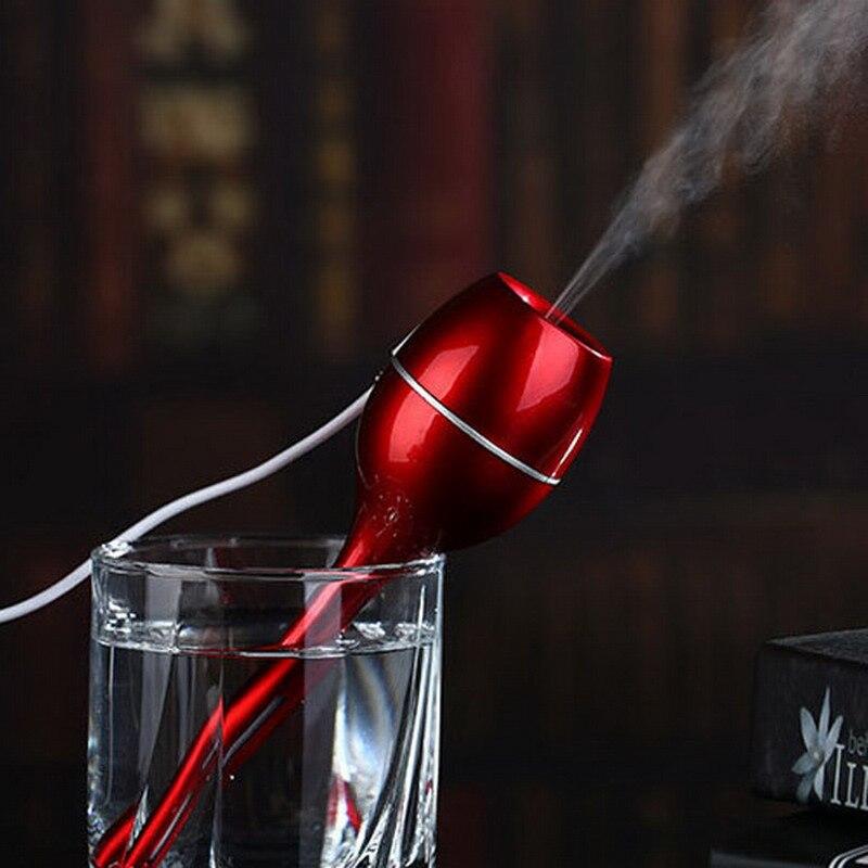 Small magic wand Humidifier Creative Gifts USB Mini Humidifier Ultrasonic Humidifier Air Diffuser VBZ73 T17 0.4<br><br>Aliexpress