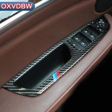 Buy bmw x5 e70 x6 e71 Accessories Carbon Fiber Window Lifter Control Frame Window Switch Decor Trim car Interior accessories for $18.20 in AliExpress store