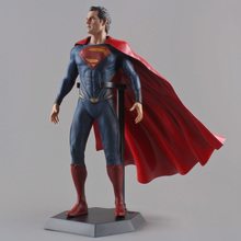 "PVC Action Figure Collectible Model Toy 12"" 30CM Crazy Toys Superman Man of Steel(China)"