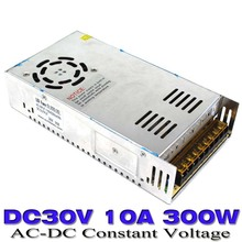 New model 30V 10A 300W Switching Power Supply Driver for LED Strip Transformers AC110V 220V TO DC SMPS with CNC CCTV MOTOR