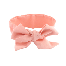 1 Pc Baby Girl Big Bows Hair Accessories DIY Infant Baby Turban Knot Headband Kids Children Adjustable Rabbit Ears Head Wrap