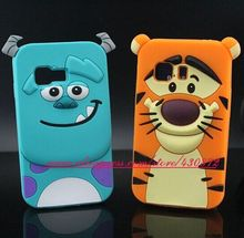 For Samsung GALAXY Young 2 G130 HOT 3D Sulley Tiger Soft Silicon Cell Phone Skin Case Cover for Samsung GALAXY Young2 G130