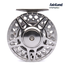70 80 90 100mm 3BB fly fishing reel CNC Machined Aluminum fly reel 1/2 3/4 5/6 7/8 w/ INCOMING CLICK L/R Hand interchangeable