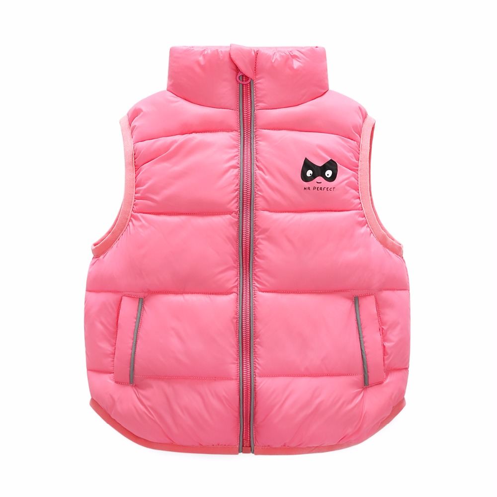 5 Bibihou 2017 Winter Kids Waistcoats children clothes Vest Warm Coat Infant sleeveless Jacket Cotton Kid Clothe Boy Girl Outwear