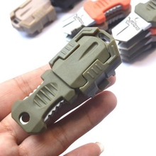 Portable EDC Gear Beetle Multifunction Stainless Steel Knife Outdoor Camping Survival Pocket Tools Buckle shipping from US(China)