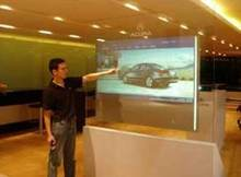 Driver Free and Fast Shipping!! 24 inch USB Interactive Touch Film for Corporate office / 10 points touch film SideTail