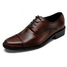 Hot Sale Business Men Shoes Dress Pointed Flats Shoes Genuine Leather Flat Shoes Brand Oxford Wedding Shoes Plus Size