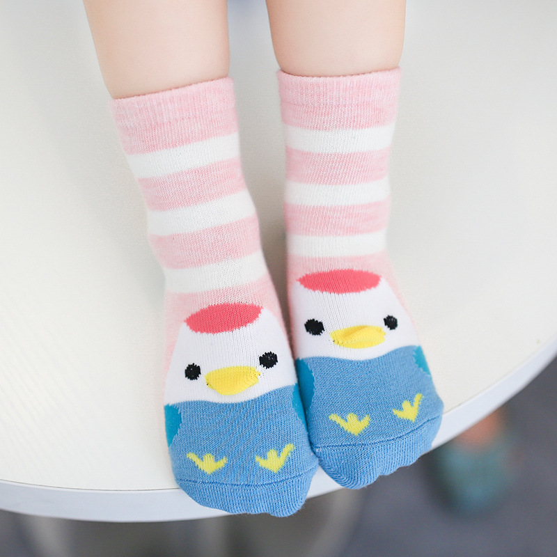children socks cotton socks wholesale Android products in autumn and winter of three stripes of three-dimensional animal co(China)