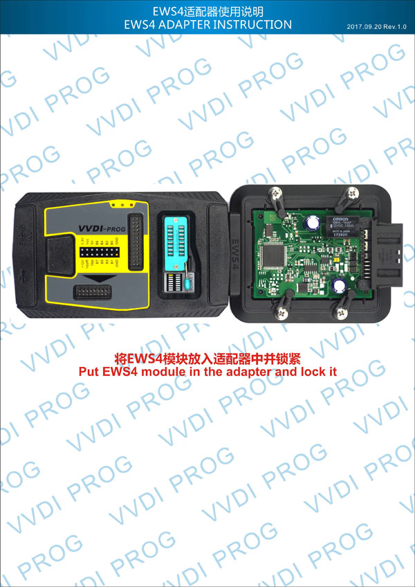 Xhorse EWS4 Adapter for VVDI Prog Programmer