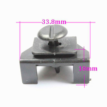 KELIMI Car clips For Toyota fender lined fixed fastener automotive decorative panel retainer clamp for toyota(China)